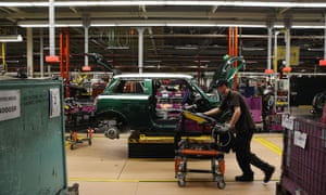 BMW's Mini plant in Cowley, near Oxford