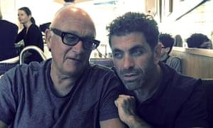 Nick Fraser with US documentary-maker Eugene Jarecki.