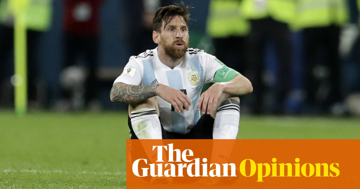 b9ed7ce011f Messi s in a mess and doesn t seem to fit into the Argentina collective