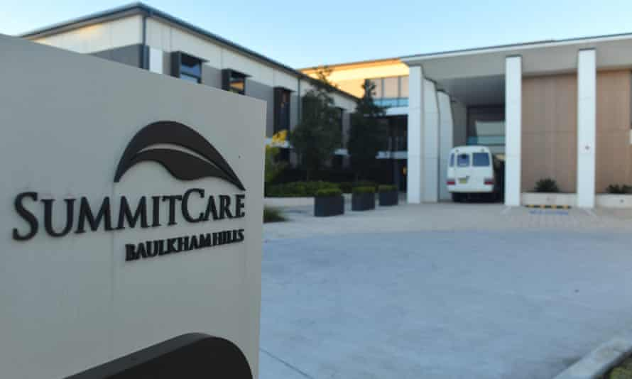 The SummitCare aged care home at Baulkham Hills in Sydney.