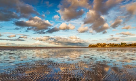 Bowness-On-Solway, Cumbria, UK.
