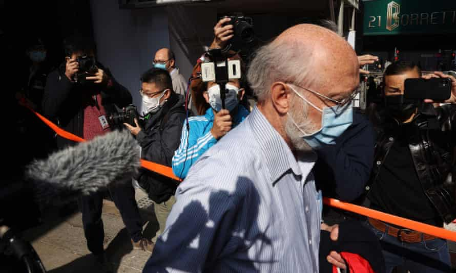US human rights lawyer John Clancey was arrested under the national security law in Hong Kong
