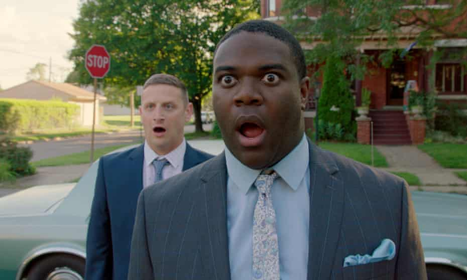 'A thick seam of dumb sweetness runs through it' ... Tim Robinson and Sam Richardson in Detroiters.