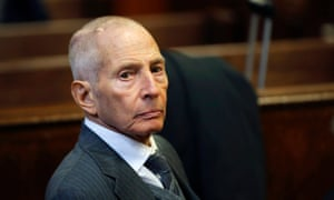 Robert Durst, 72, is currently awaiting trial in Louisiana and is in poor health.