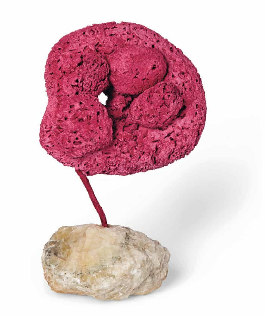 An untitled sponge sculpture from 1959.