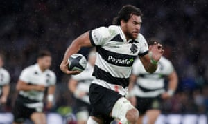 Steven Luatua in action for the Barbarians at Twickenham in November 2017.
