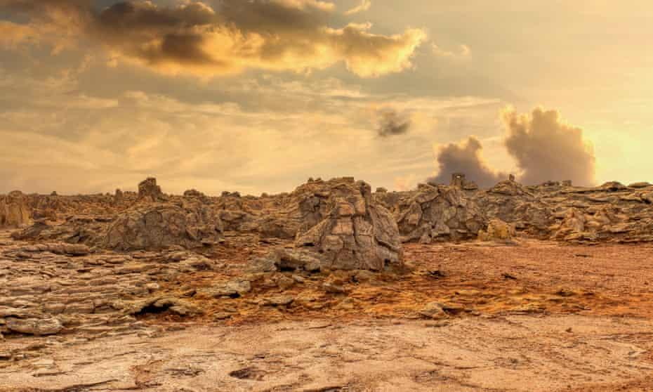 The New Wilderness is set in a world full of 'uninhabitable regions'
