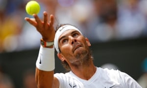 Rafael Nadal will play the unseeded American Sam Querrey in the quarter-finals.