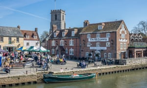 The River Frome in Wareham, Dorset