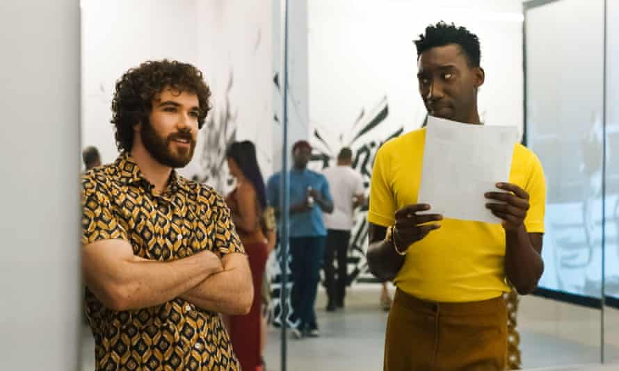 Nathan Stewart-Jarrett and Kyle Kaminsky in the (C)Metro-Goldwyn-Mayer new movie: Candyman (2021). Plot: A spiritual sequel to the 1992 horror film 'Candyman' that returns to the now-gentrified Chicago neighborhood where the legend began. Ref: LMK110-J7211-160721 Supplied by LMKMEDIA. Editorial Only. Landmark Media is not the copyright owner of these Film or TV stills but provides a service only for recognised Media outlets. pictures@lmkmedia.com2G8D00T USA.