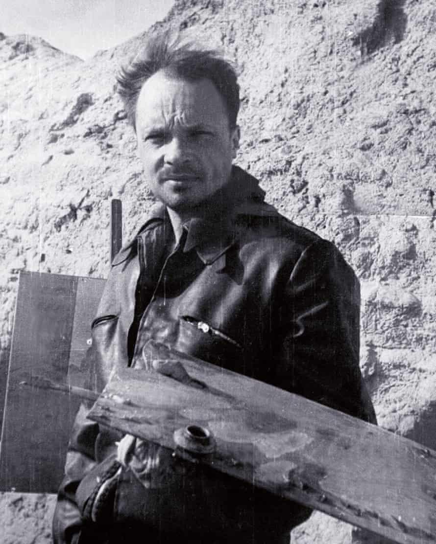Electrician turned gallerist … Igor Savitsky in the 1950s.