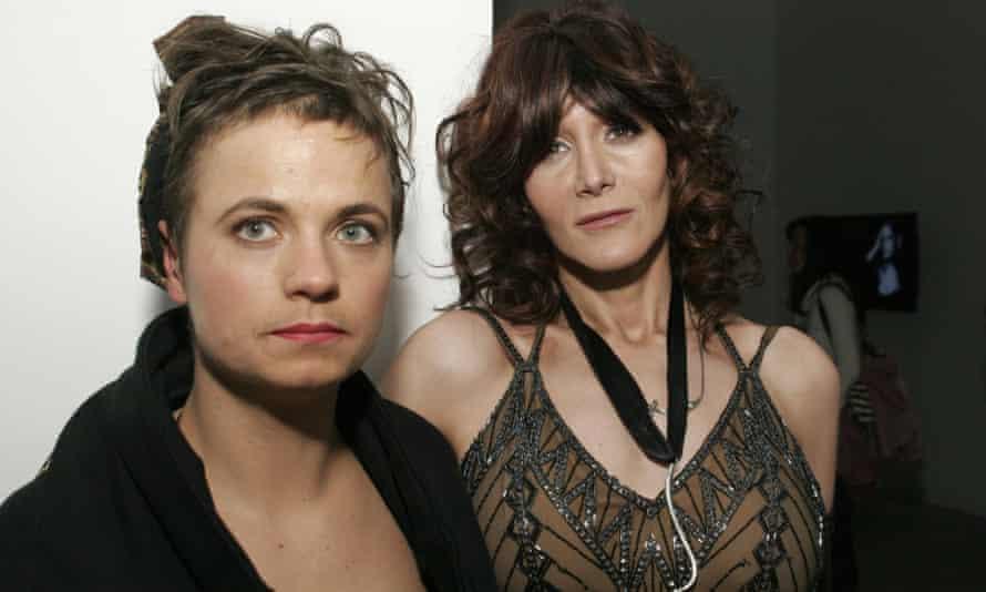 Savannah Knoop and Laura Albert in 2007.