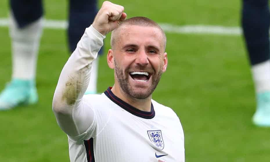 Luke Shaw delivered two assists as England defeated Ukraine 4-0 in their Euro 2020 quarter-final.