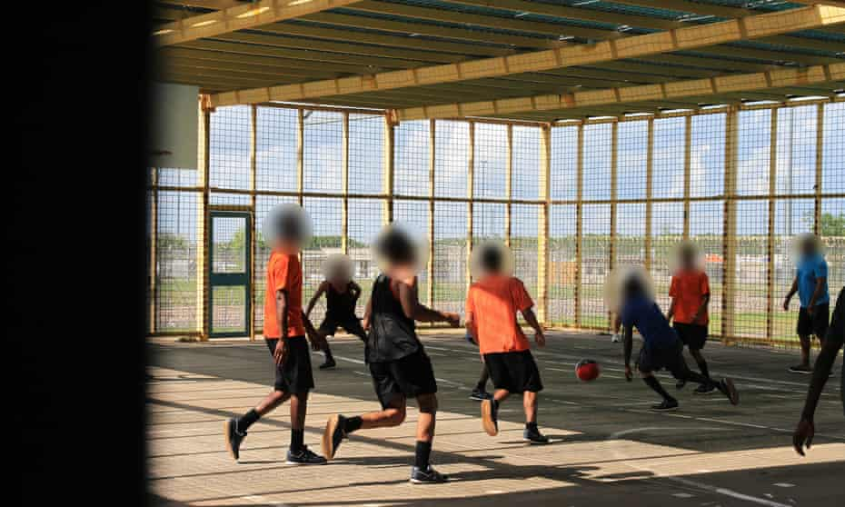 Children at the Don Dale juvenile detention centre in Darwin