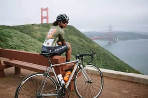 Ayesha McGowan is first professional African-American in women's pro cycling