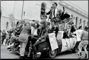 The Club Chaos and Klubstitute float in the San Francisco Pride parade, 25 June 1989