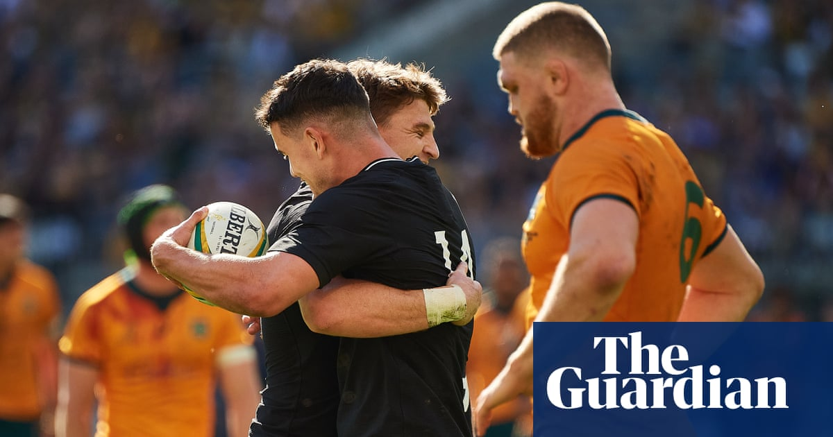 All Blacks claim Bledisloe clean sweep over Wallabies with 38-21 rout in Perth