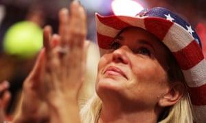 Trump sparks the delegates.