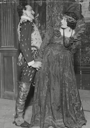 The Taming of the Shrew, 1927Sir Lewis Casson and Dame Sybil Thorndike, married in real life, in Shakespeare's play