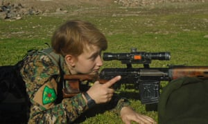 Anna Campbell, a British woman who died fighting with the Kurdish armed unit in Syria.