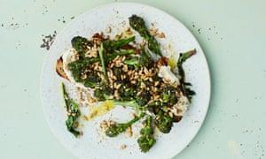 New brunch twist: Anna Jones's broccoli on toast.
