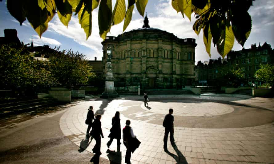 McEwan Hall, part of Edinburgh University, which has apologised for failing in the support it provided.