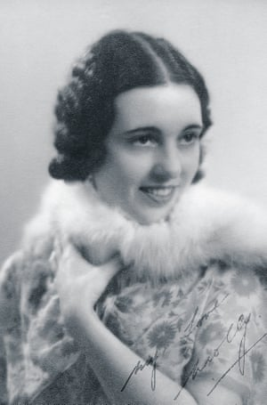 Norah Ada Beatrice Levy, AKA Molly O'Day, in the 1920s.