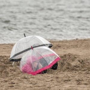 Rain didn't stop play, Aberdyfi, Wales