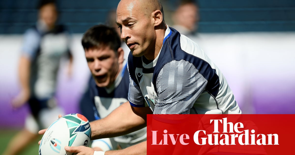 Italy v Namibia: Rugby World Cup 2019 – live!