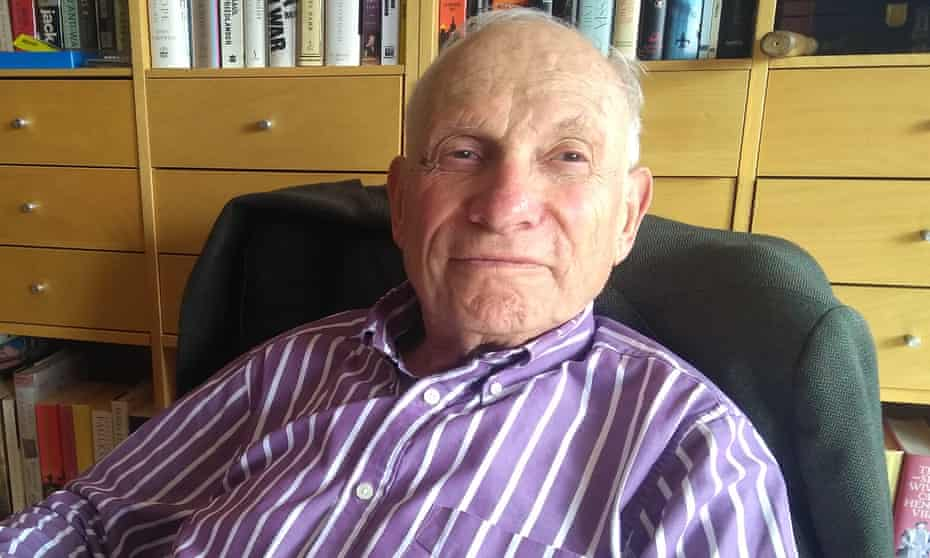 Peter Kirstein in March last year. He was responsible for setting up the Queen's first email account in 1976.