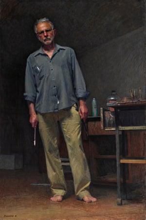 Robert Hannaford Self-Portrait by Robert Hannaford