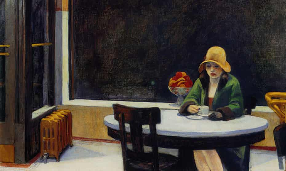 Tallis reflects on Edward Hopper's Automat in The Act of Living.