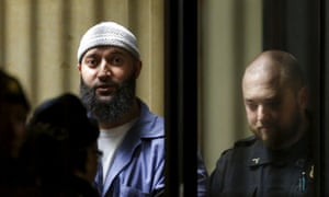 Adnan Syed leaves the Baltimore City circuit courthouse on Friday.