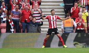 Tadic after poaching his second goal.