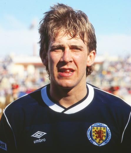 Gary Mackay during his brief Scotland career.