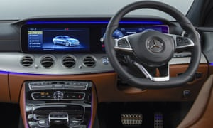 Inside story: the swish interior featuring the 24in infotainment display.