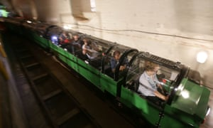 Tiny mail rail trains put post museum on track for top