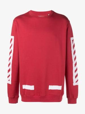 Diago red, £253 Off-White