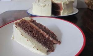 Ben Mims's red velvet cake.