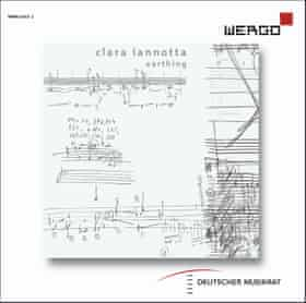 Clara Iannotta: Earthing album art.