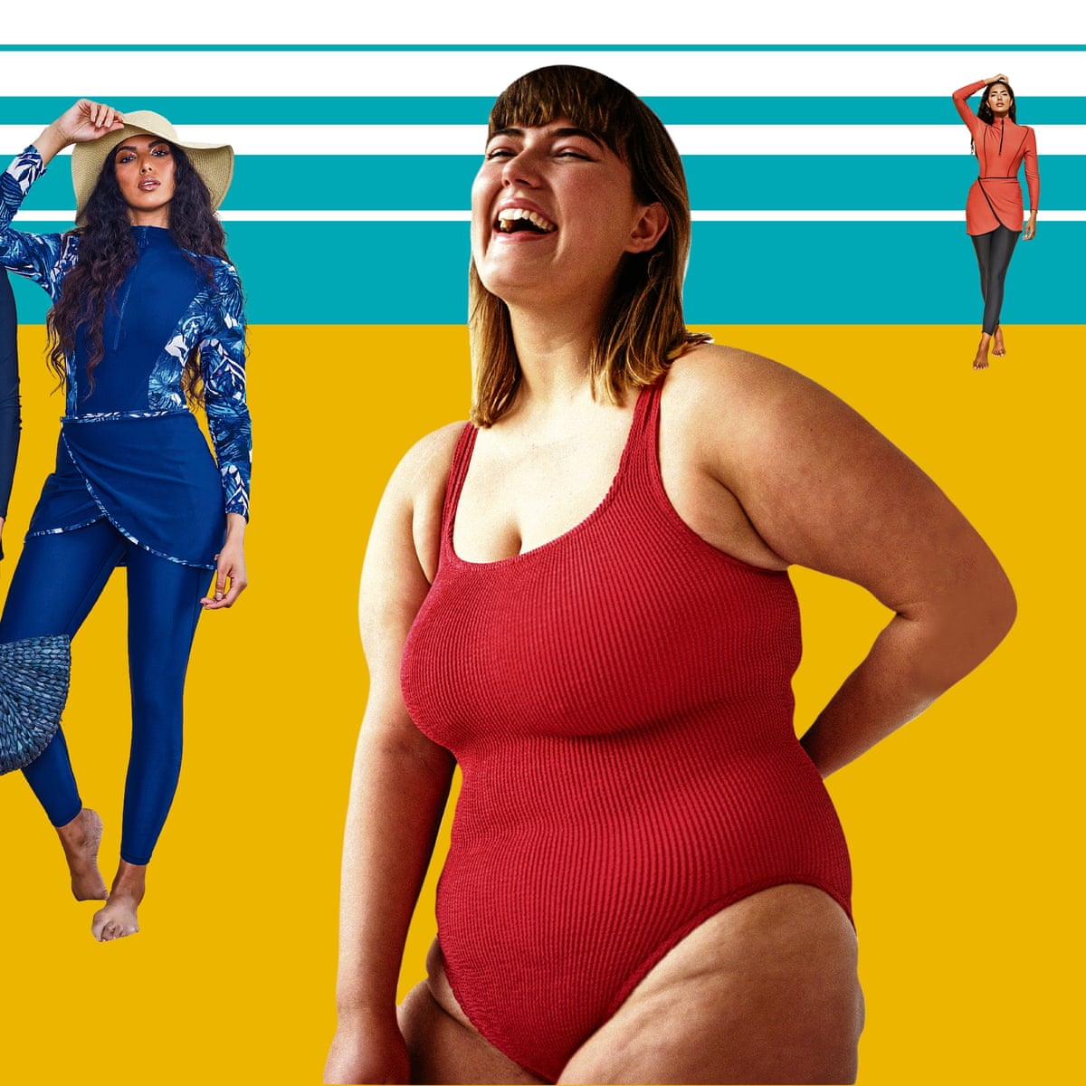 The Models Have Bellies Hips And Thighs That Jiggle The Rise Of Body Positive Swimwear Women The Guardian