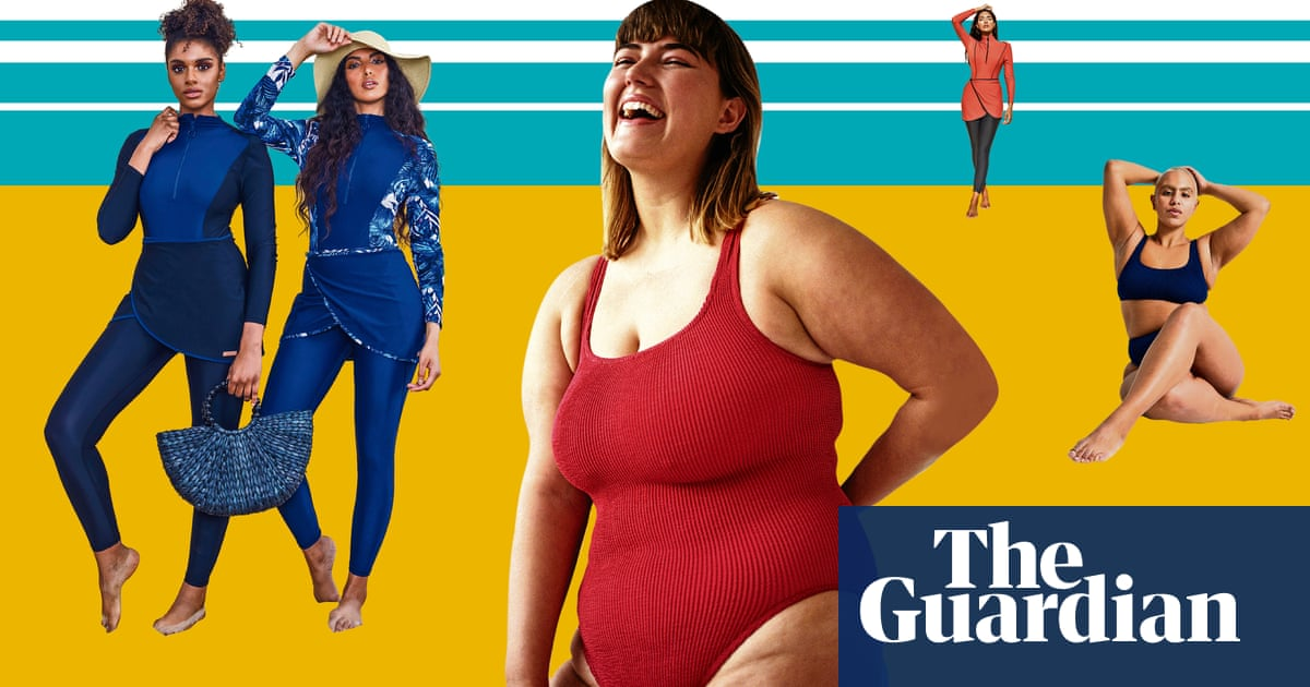 5225632e13 'The models have bellies, hips and thighs that jiggle': the rise of  body-positive swimwear