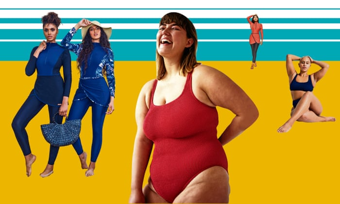 ccc6d2bace 'The models have bellies, hips and thighs that jiggle': the rise of  body-positive swimwear | Life and style | The Guardian