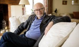 Al Aynsley-Green in his sitting room