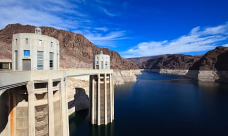 Hoover Dam near Las Vegas. Hydroelectric dams are a rich source of greenhouse gas emissions, but the emissions aren't part of global greenhouse gas inventories.