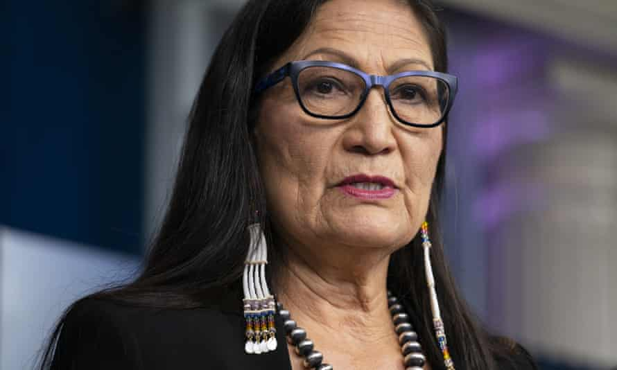 Deb Haaland, interior secretary, announced an investigation into Native American boarding schools.