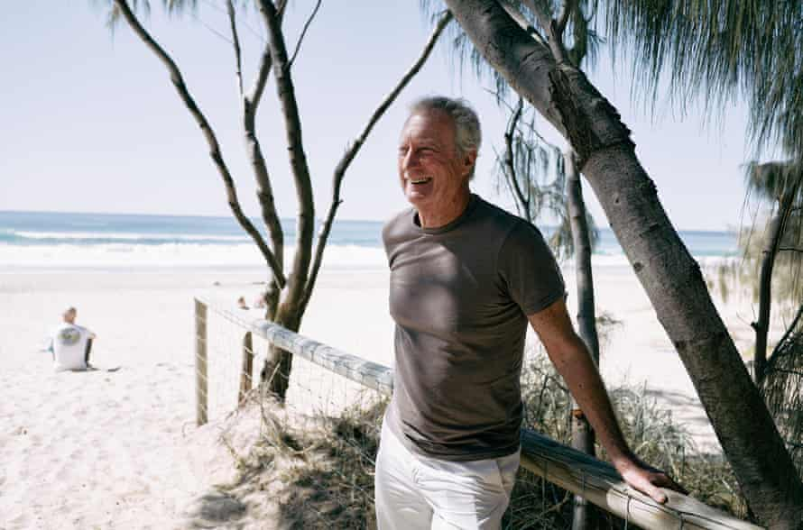 Australian actor, Bryan Brown for three things feature. Lifestyle Australia. Shot on the Gold Coast where he is currently working on a television show.