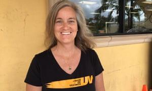 Elizabeth Blaney, co-founder of Union de Vecinos, a community group in Boyle Heights, Los Angeles