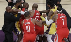 272dfb3bc02c NBA brawls are infantile but they re not necessarily pointless
