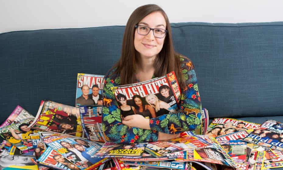 Tina Hart can't bear to part with her old Smash Hits magazines.